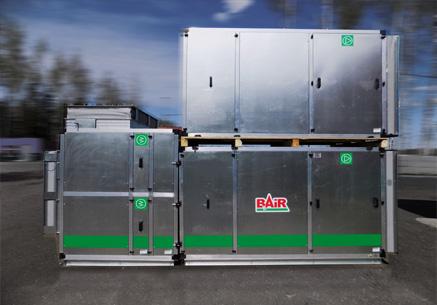 Приточные климатические агрегаты северного исполнения