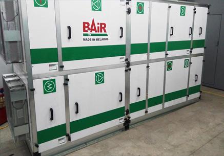 Оборудование Bair West
